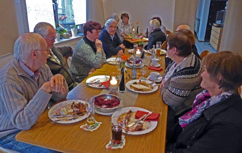 Westerwaldverein Bad Marienberg traf sich zum Martinsgansessen