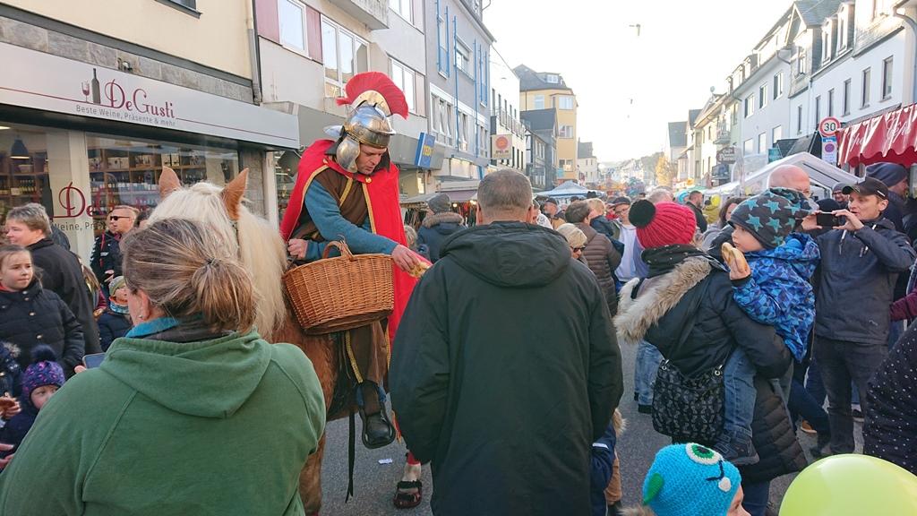 Martinsmarkt lockte in die Wissener Innenstadt