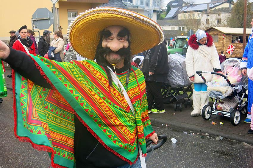 Karnevalsumzug in Maxsain war wieder ein Renner