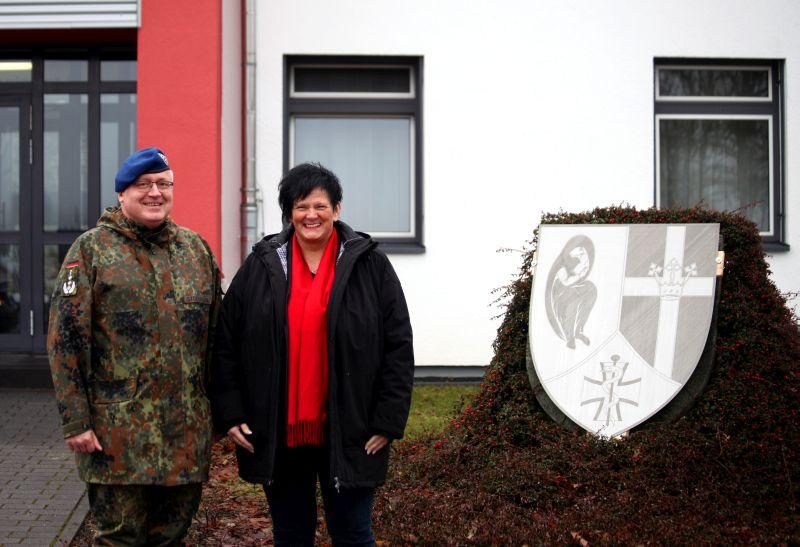 Bundestagsabgeordnete Heidtrud Henn informiert sich in Rennerod