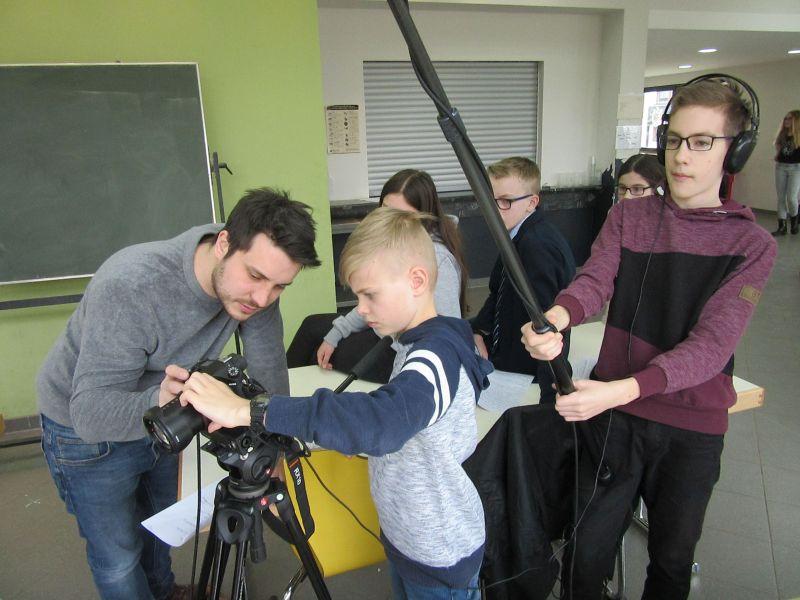 Experten gaben jungen Filmemachern wertvolle Tipps