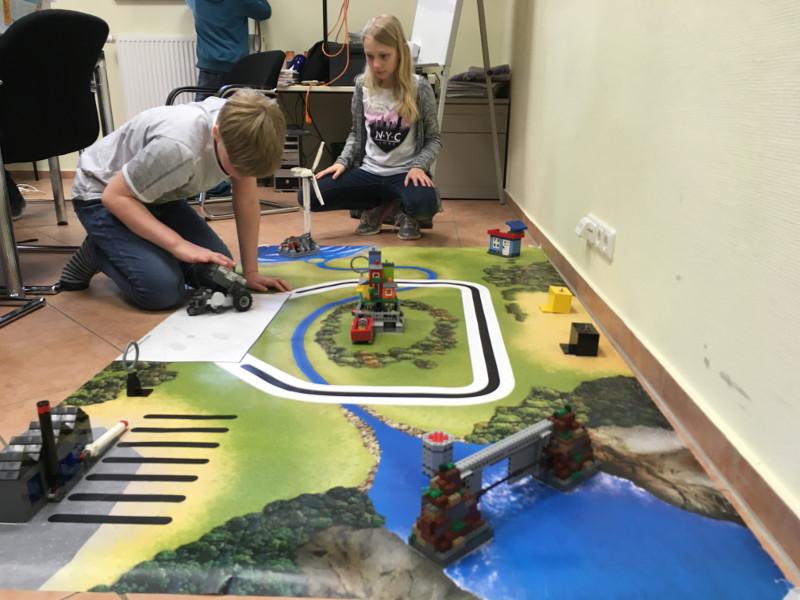 """""""Die grüne Stadt"""": Workshop mit technikbegeisterten Kindern"""