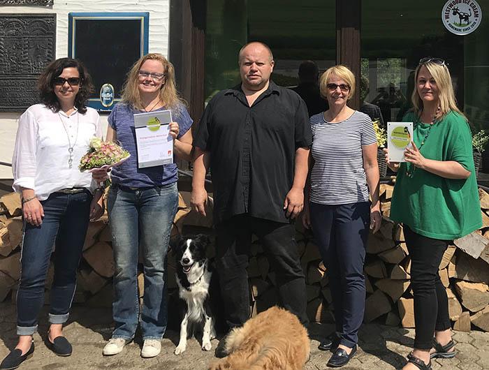Meisenhof erneut als wanderfreundlich zertifiziert