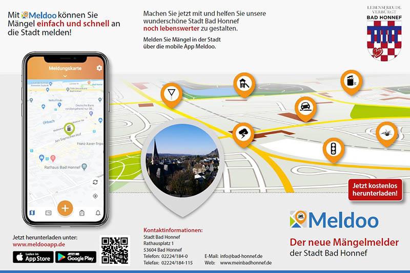 Meldoo – App zum Melden statt nur zu meckern