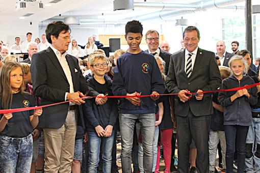 Mehr Platz, mehr Möglichkeiten: Neue Mensa am Evangelischen Gymnasium eröffnet