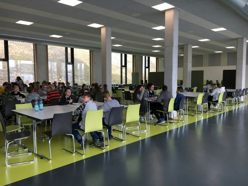 IGS Selters: Umzug ins neue Schulgebäude geht voran
