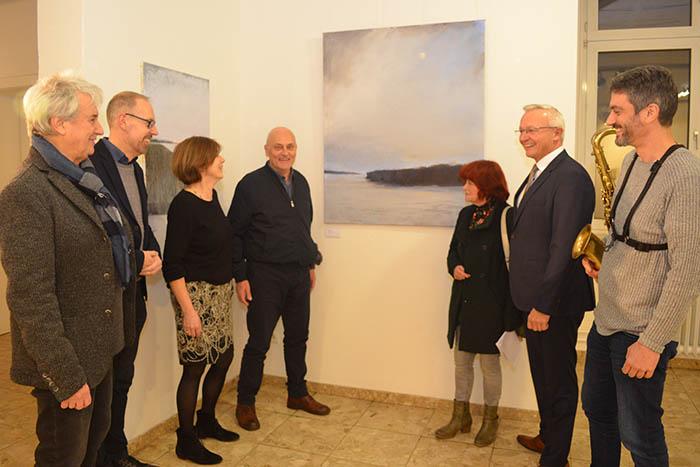"""Kreishaus: Ausstellung """"Im Fluss"""" von Mircea Handabura"""