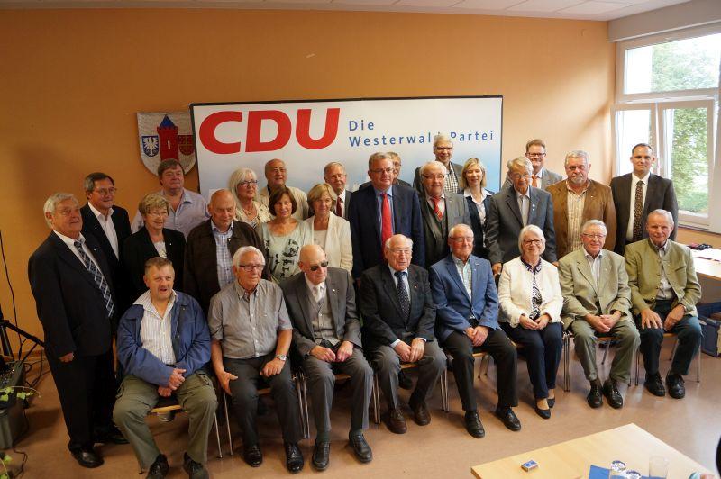 Westerwälder Christdemokraten ehrten langjährige Mitglieder
