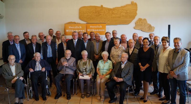 Geehrte CDU-Mitglieder. Foto: CDU