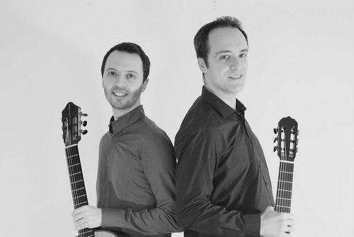 Gitarren-Duo im Historica-Gewölbe in Montabaur