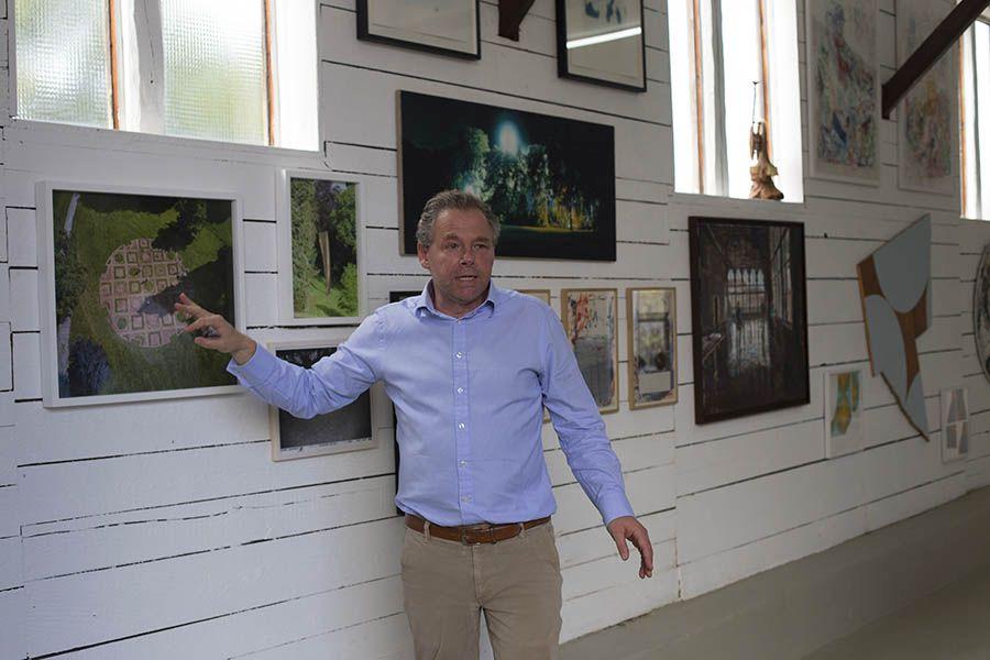 Vernissage in der Emmanuel Walderdorff Galerie in Molsberg