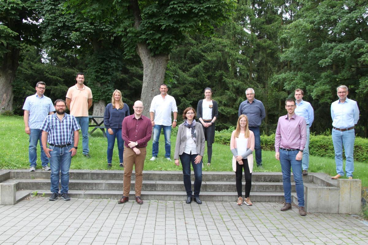 Teilnehmende des Arbeitskreises Klimaschutz im Westerwaldkreis. (Foto: Pressestelle der Kreisverwaltung)