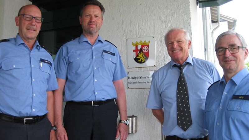 Andreas Wolf wird neuer Polizeihauptkommissar