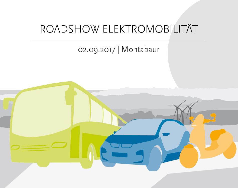 Die Roadshow Elektromobilität kommt nach Montabaur.