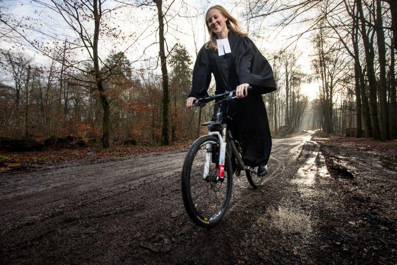 Mit dem Mountainbike in der Passionszeit unterwegs