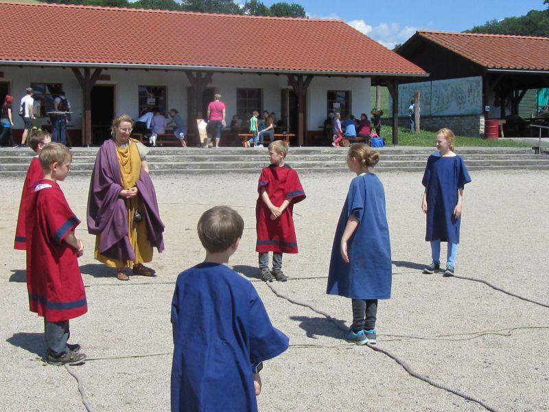 Ein römischer Spieletag am UNESCO Welterbetag 3. Juni