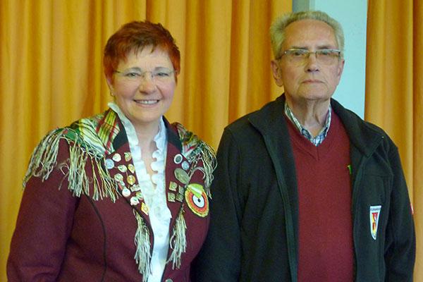 Gerd Muscheid 60-jährige Mitgliedschaft geehrt