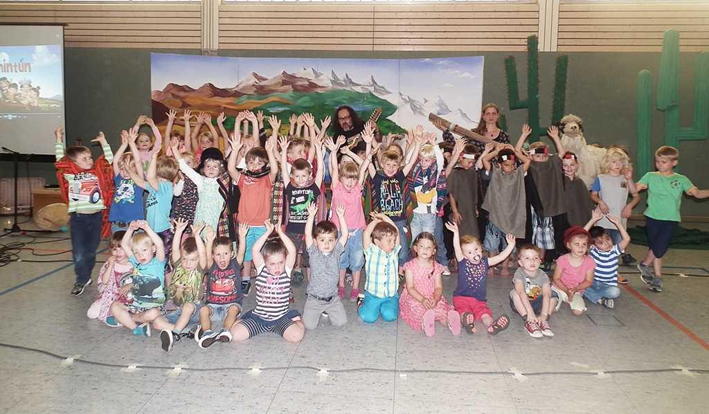 Kindermusical der Kita St. Katharina war ein Erfolg