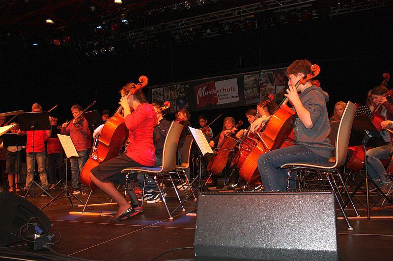 Konzert �Musik von Klein bis Groߓ der Kreismusikschule bot tolle Unterhaltung