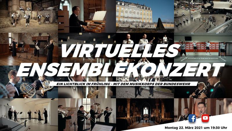 Lions Club präsentiert virtuelles Konzert mit Musikkorps der Bundeswehr