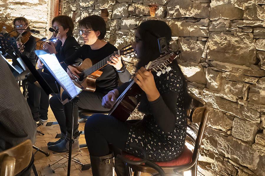 Konzert der Kreismusikschule mit Überraschungen