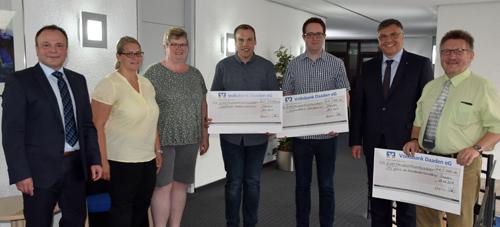 Volksbank Daaden unterstützt Ausbildung der Musikvereine
