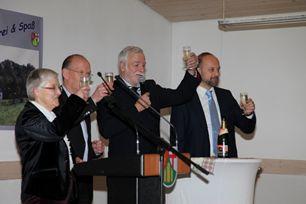 Neujahrsempfang in Hillscheid. Fotos: Richard Jaroš und K. Schimmelpfennig-Depping