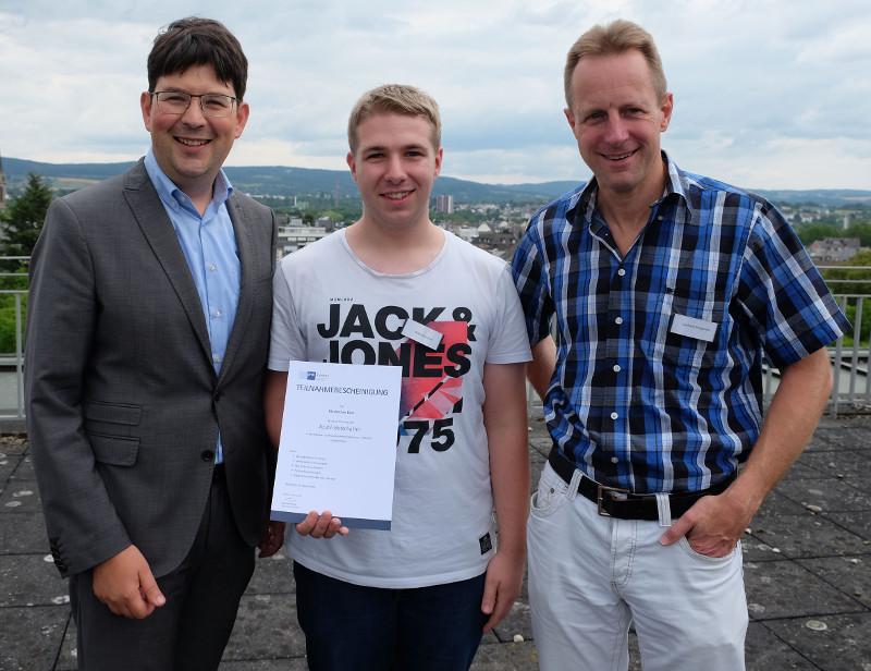 Esch: Erster Azubi-Botschafter der Stadtverwaltung