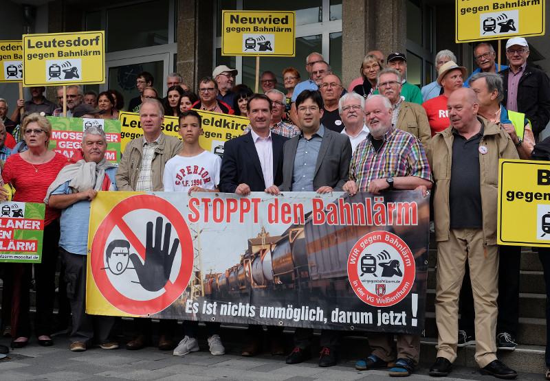 Neuwieds Bürgermeister Mang unterstützt Bahnlärm-Gegnern