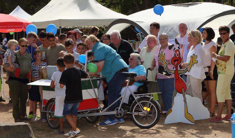 Großer Besucherandrang beim Familien- und Begegnungsfest