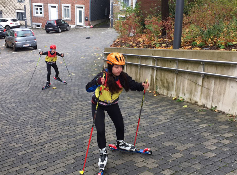 Citybiathlon in Eupen: SRC-Team schneidet gut ab