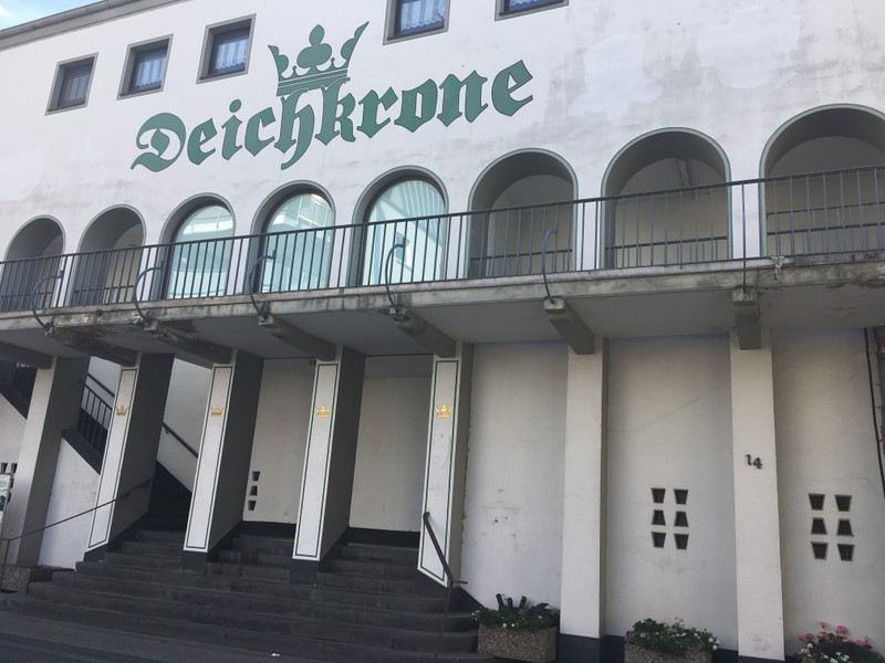 SPD-Fraktion besichtigt Deichkrone