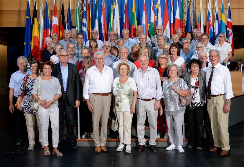 Seniorenunion erhielt exklusive Einblicke ins Europaparlament
