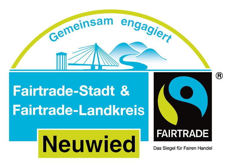 Logo: Fairtrade Kommunen Neuwied