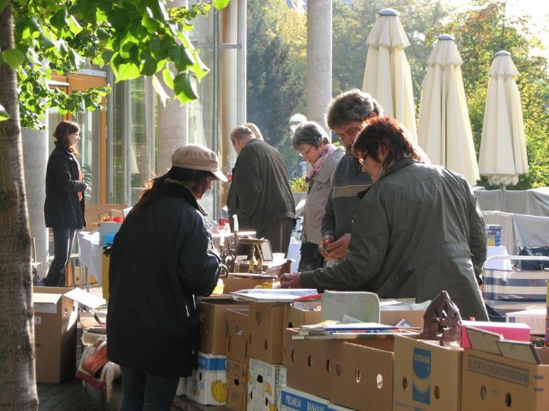 Flohmarkt lockt wieder ins Heinrich-Haus