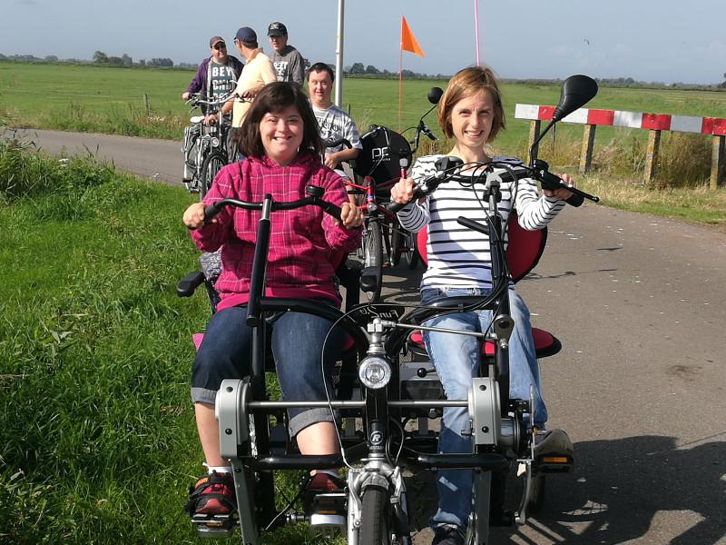 Die Reisegruppe der Lebenshilfe verbrachte erlebnisreiche Tage in Holland. Foto: Privat