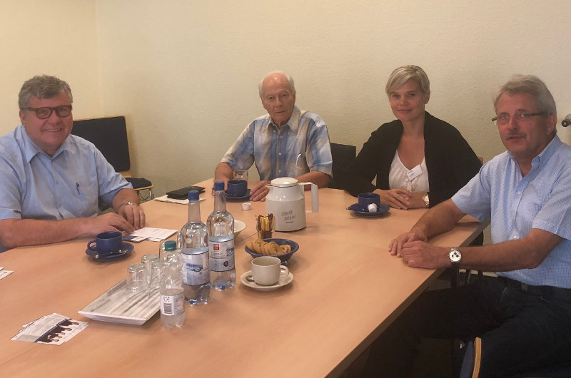 Mahlert besucht das Ambulante Hospiz in Neuwied