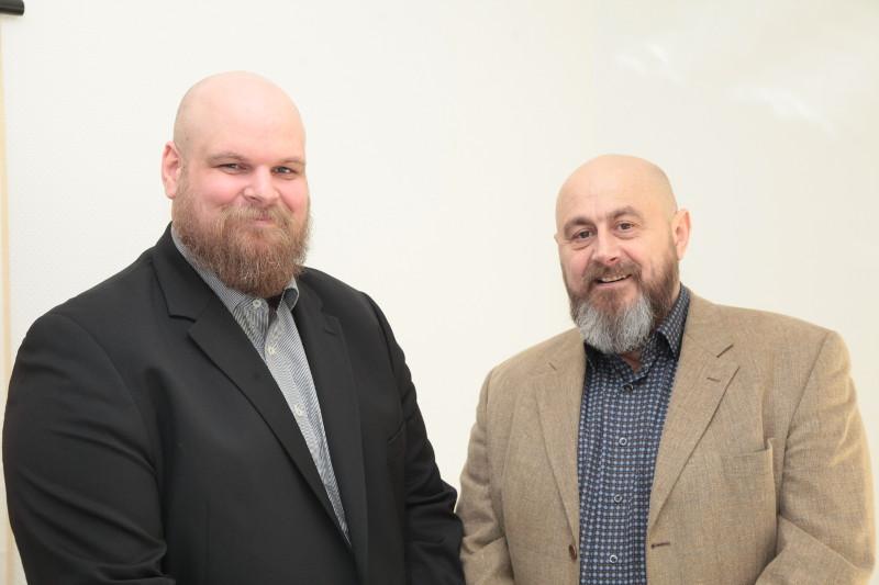 Florian Metzler (links) und Valentin Effertz leiten gemeinsam die Reha Rhein-Wied. Foto: Privat