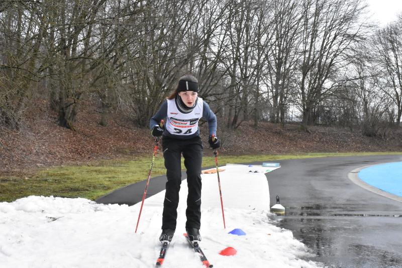 Der SRC Heimbach-Weis hatte beim 2. DSV Talenttag Skilanglauf einiges zu bieten. Foto: Verein