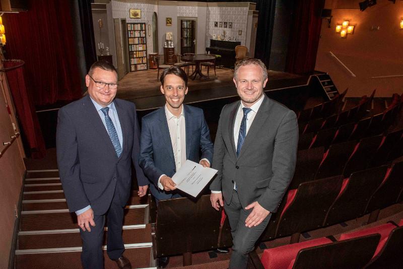 Stadtwerke werden ein Hauptsponsor des Schlosstheaters