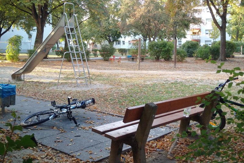 Spielplatz Ulmenweg: Ein Bild des Jammers