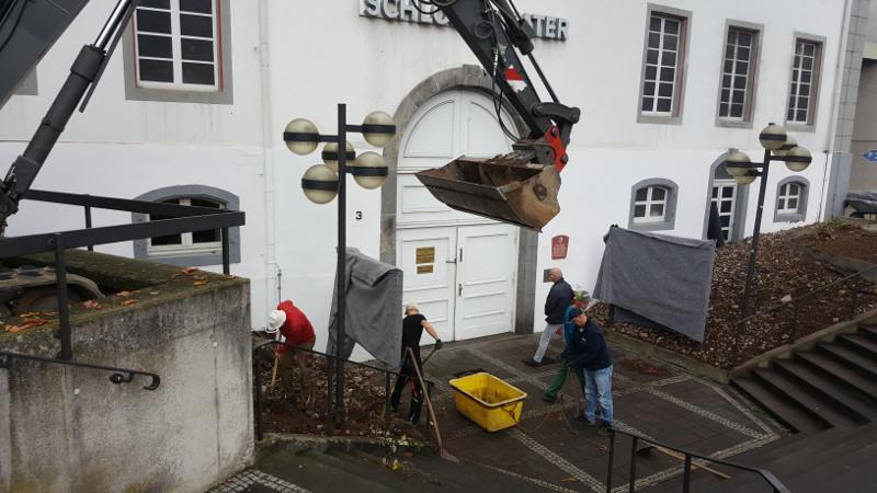 Die Verschönerung des Neuwieder Theatervorplatzes geht auf einen Vorschlag des Netzwerks Innenstadt zurück. Foto: Pressebüro Neuwied