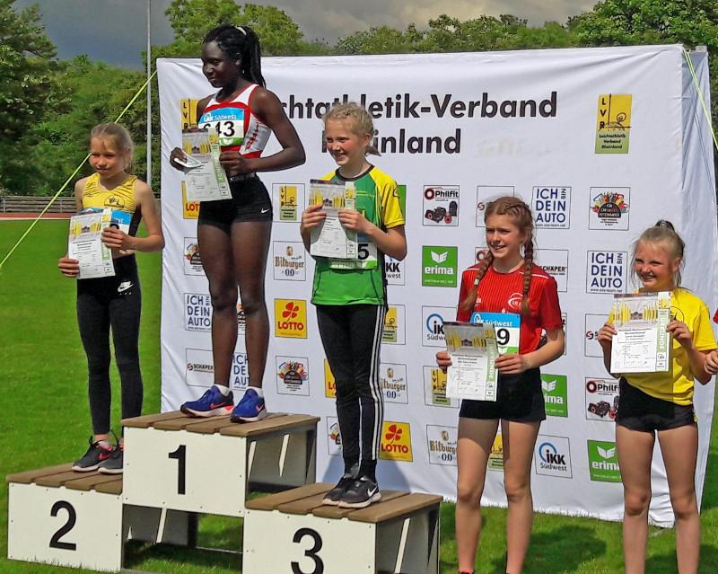 Drei Podestplätze für den VfL-Waldbreitbach