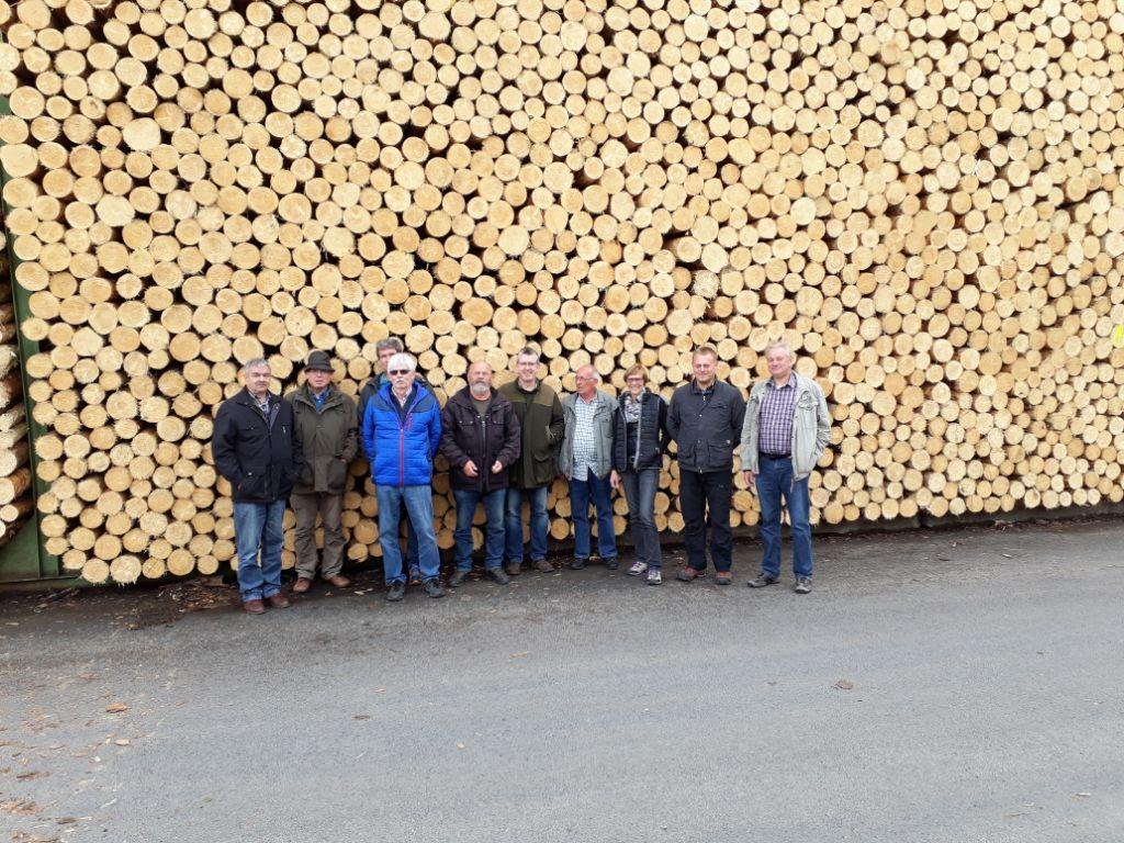 Kreiswaldbauverein Neuwied auf Exkursion im Hochsauerland