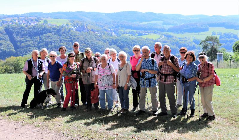 Der evangelische Verein Heddesdorf ging auf Wanderschaft. Foto: Privat