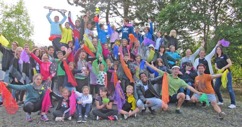 Manege frei! 40 Kinder bei der integrativen Zirkusfreizeit