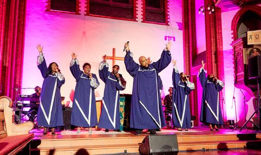 Emotion und Ausgelassenheit: New York Gospel Stars kommen