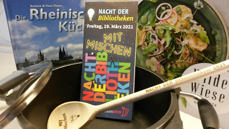Bad Honnefer Stadtbücherei sucht Lieblingsrezepte