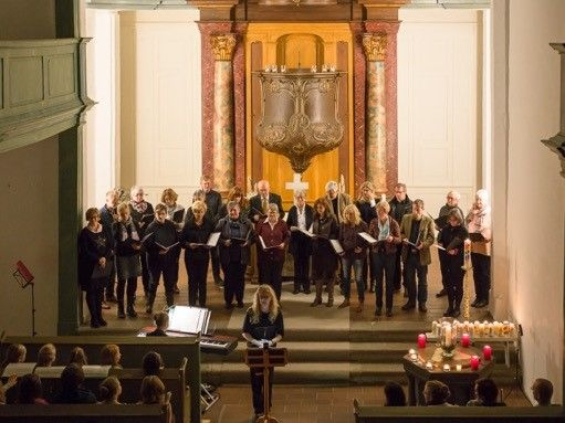 Offenes Adventssingen in der Schlosskirche