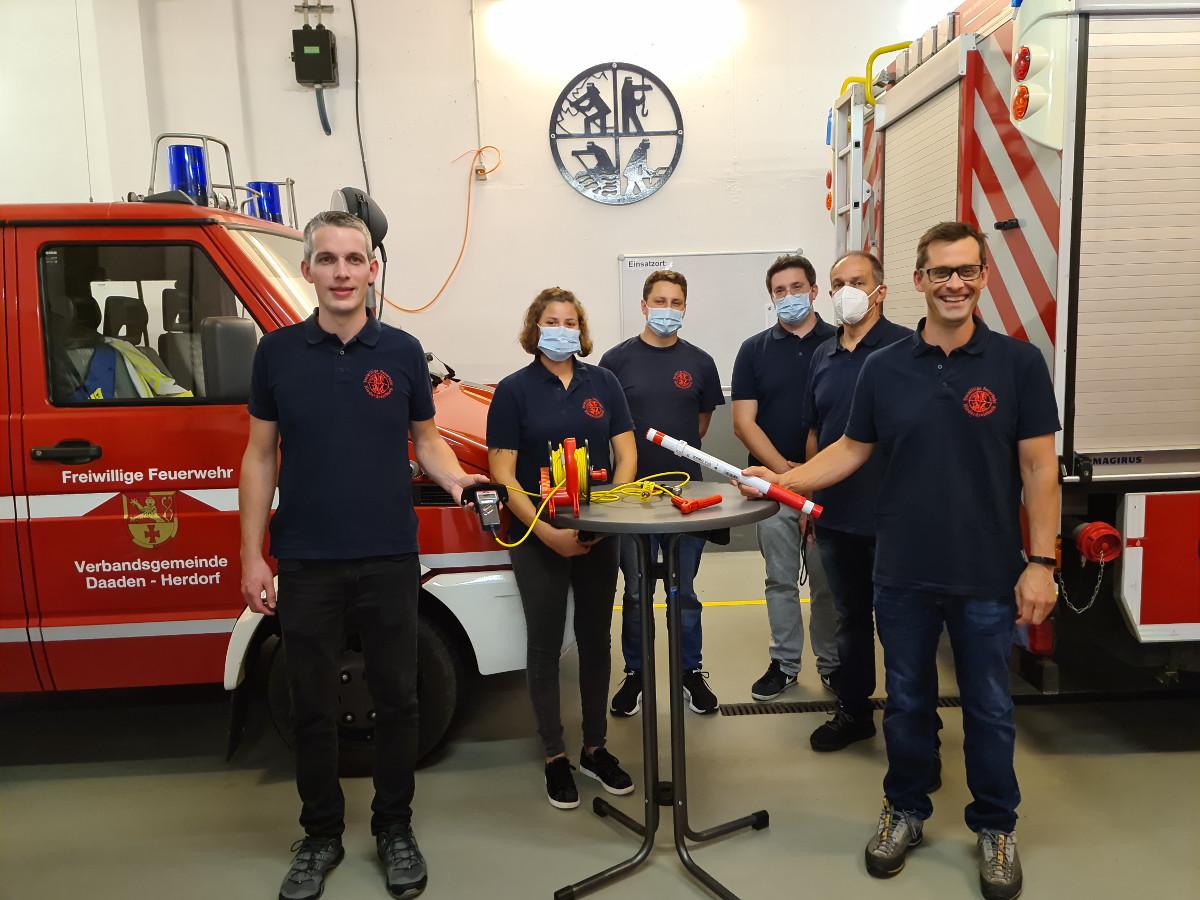 Förderverein investiert in Sicherheit der Feuerwehr Niederdreisbach